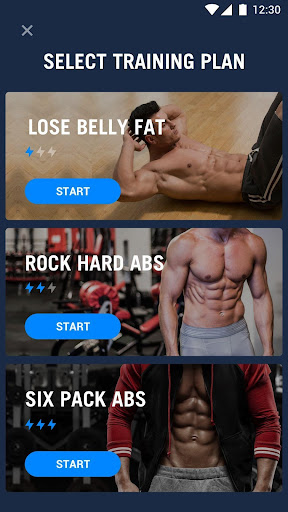 Six Pack in 30 Days - Abs Workout 1.0.10 screenshots 1