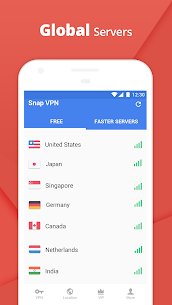 Snap VPN – Unlimited Free & Super Fast VPN Proxy 3.3.3 3