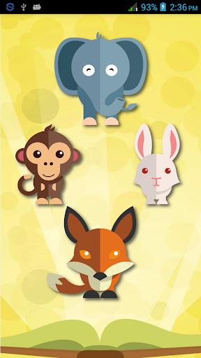 幼児動物の学習帳