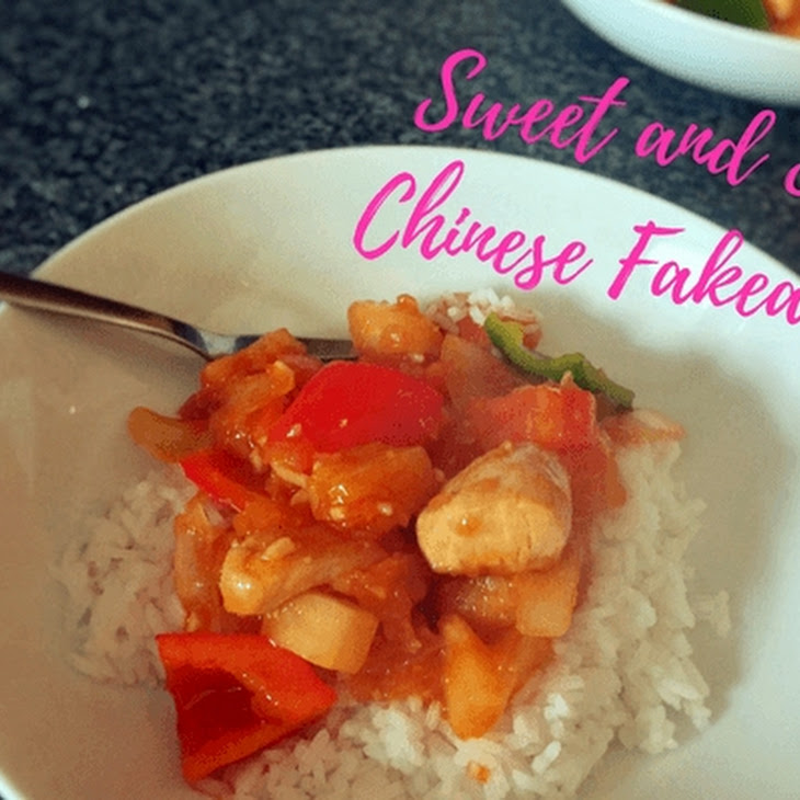 Sweet and Sour Chinese Fakeaway