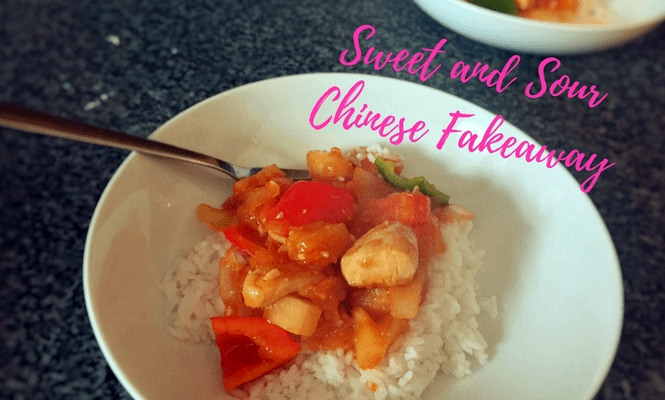 Sweet and Sour Chinese Fakeaway Recipe