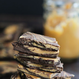 Peanut Butter Chocolate Swirl Bark