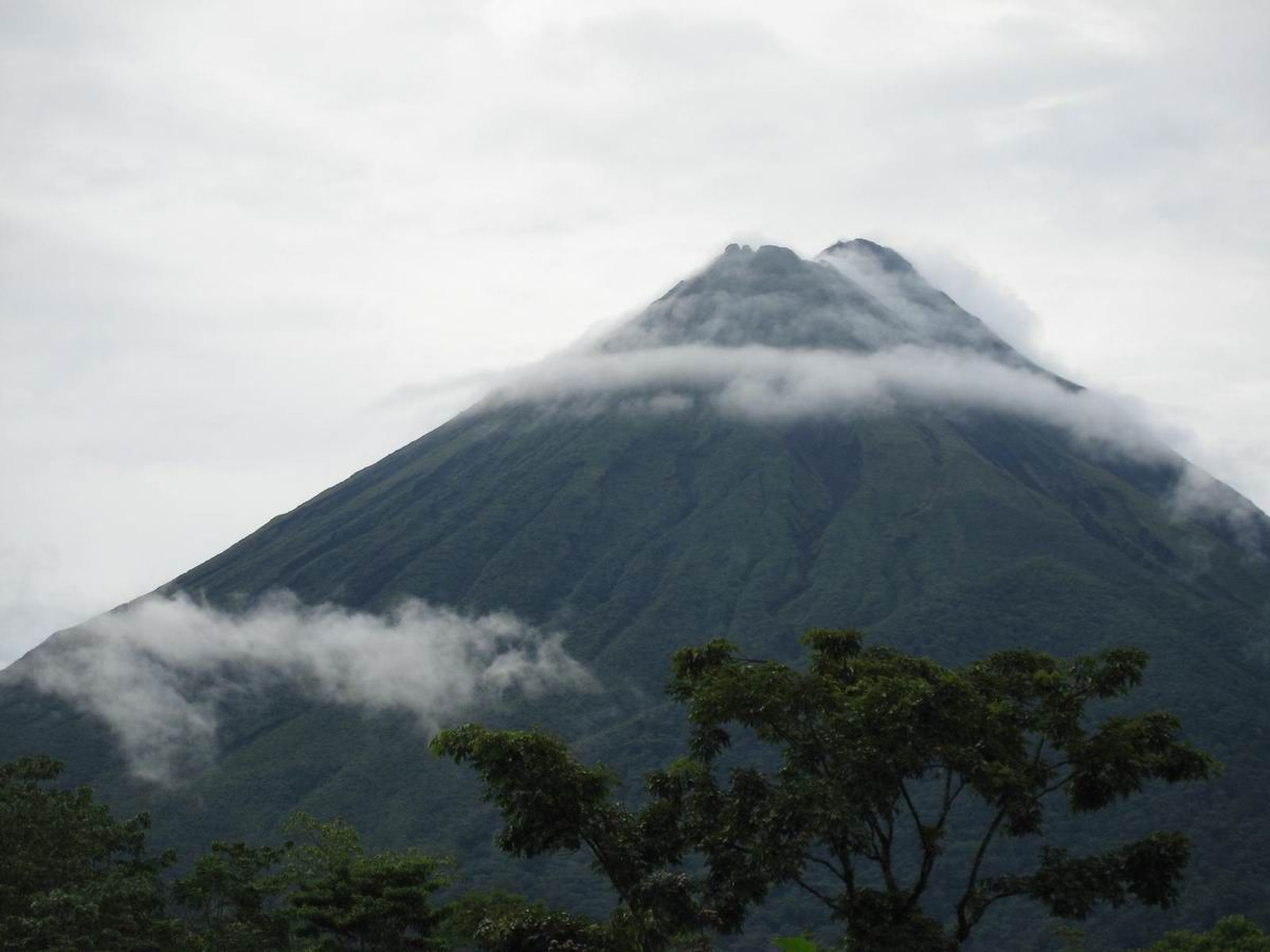 Photo: #004-Le volcan Arenal au Costa Rica