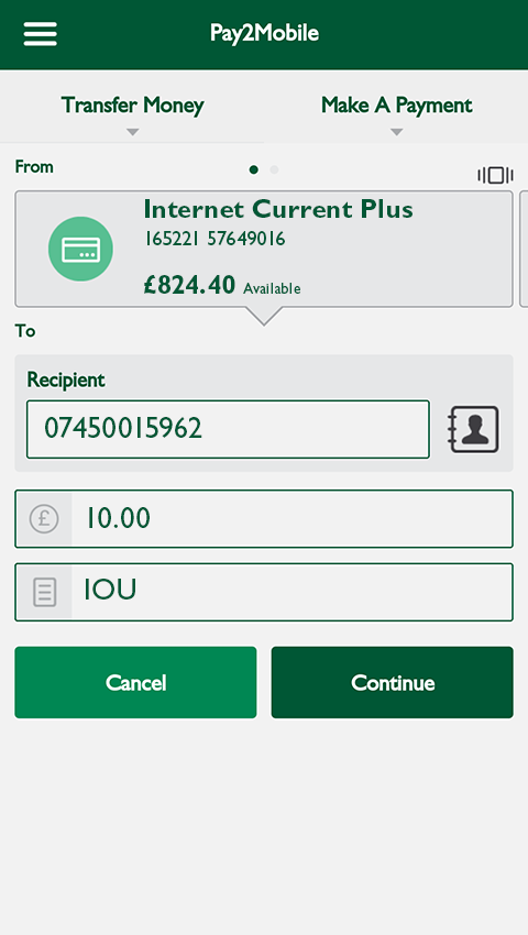 Cumberland Mobile Banking- screenshot