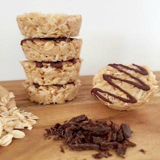 Healthy No Bake Honey Coconut Cookies.