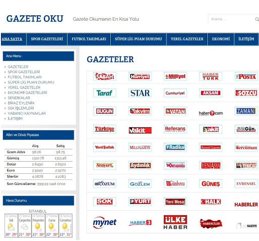 Gazete Oku app (apk) free download for Android/PC/Windows screenshot
