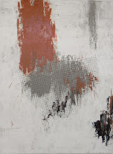 Photo: NOT CLYFFORD 4 48 x 36 Acrylics and deer netting