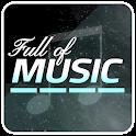 Full of Music1-MP3 Rhythm Jeu icon