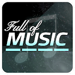 Full of Music 1 ( MP3 Rhythm Game ) Icon
