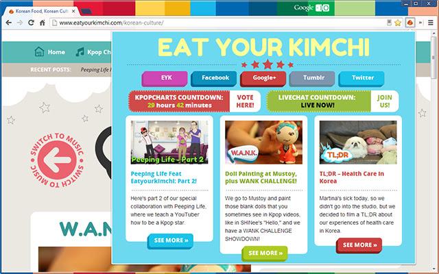 Eat Your Kimchi Nasty Reader
