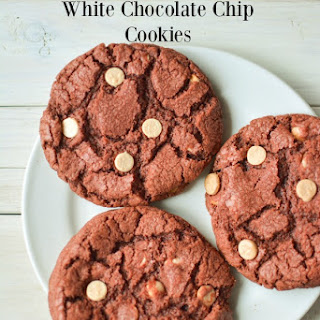 Red Velvet White Chocolate Chip Cookies Recipe