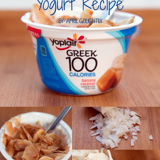 Ingredients Toasted Coconut Flake & Yogurt