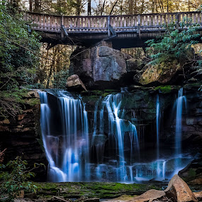 by Ivan Gibson - Landscapes Waterscapes ( mountains, waterfalls, waterfall, appalachia, streams, scenic )