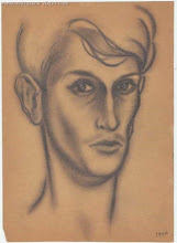 Photo: Автопортрет Виктора Некрасова,  карандаш, 19 х 26 см, 1940