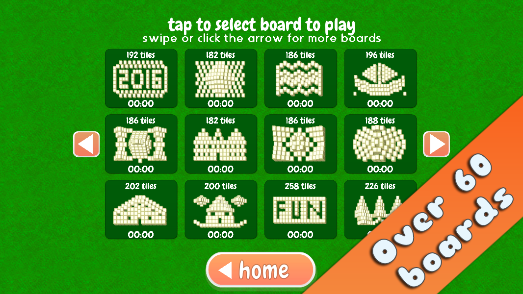 Mahjong Holiday Joy 2016- screenshot