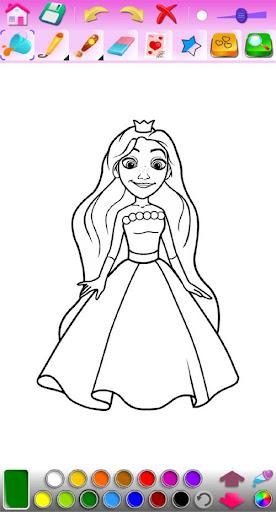 Princess Coloring Game 1.29 screenshots 2