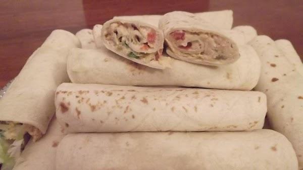 Chicken Salad Roll-ups / Tacos Recipe
