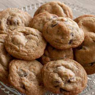 Thick, Chewy Chocolate Chip Cookies.