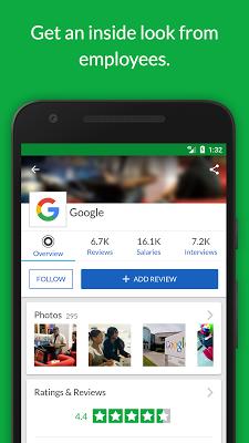 Glassdoor Job Search, Salaries & Reviews - screenshot