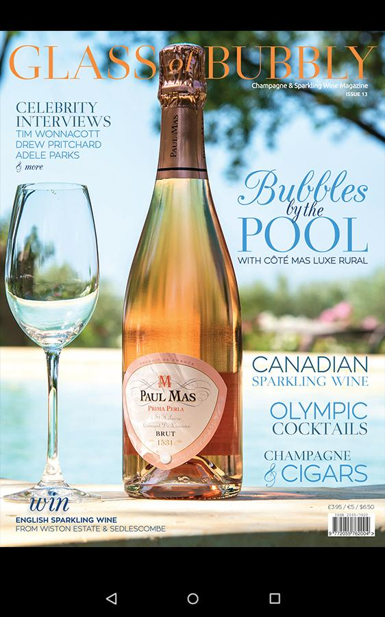 Скриншот Glass of Bubbly Magazine