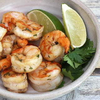 Spicy Orange and Jalapeno Grilled Shrimp