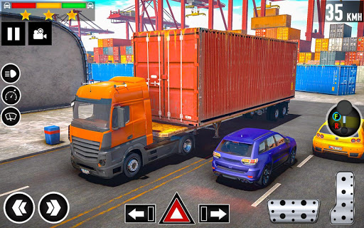 Cargo Delivery Truck Parking Simulator Games 2020 1.11 screenshots 5