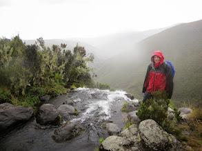 Photo: Ken at top Nithi Falls