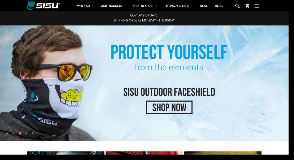 SISU brand of Akervall Technologies Inc (ATI) website screenshot