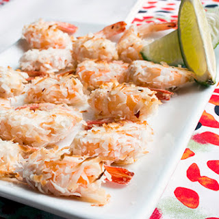 Skinny Coconut Shrimp