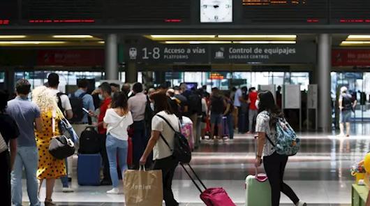 Renfe, aerolíneas y buses guardarán cuatro semanas los datos de los viajeros