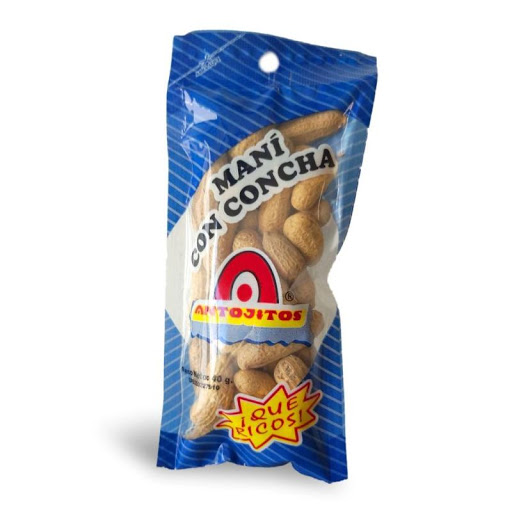 Snack Antojitos Mani Con Concha 40Gr