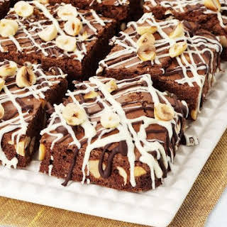 Nutty Chocolate Squares.