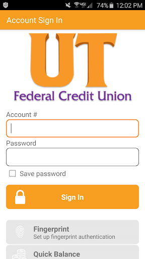 UTFCU Mobile Banking