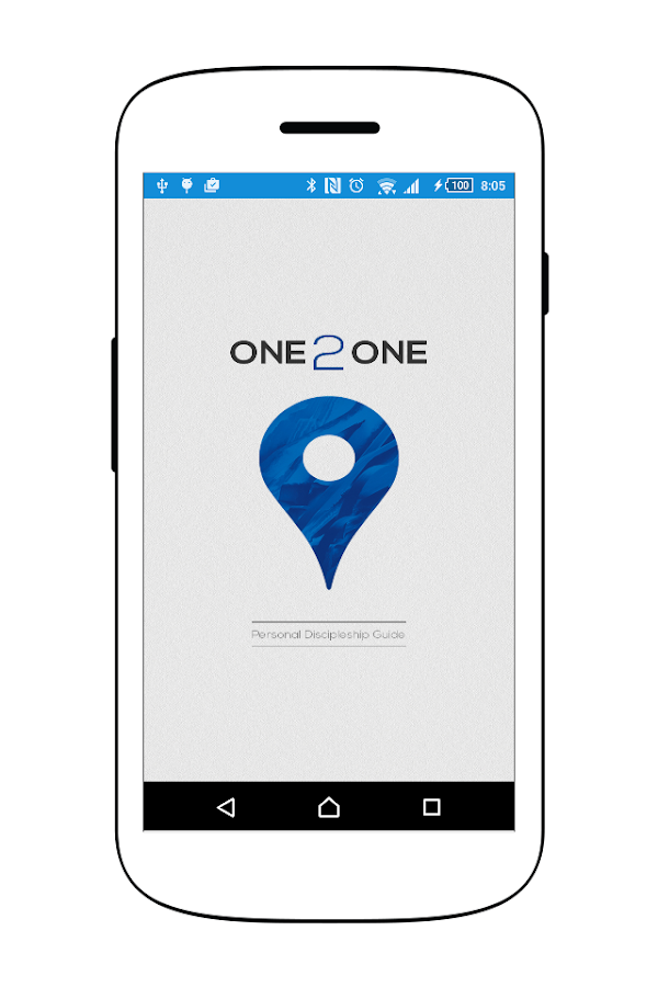 ONE 2 ONE Discipleship App- screenshot
