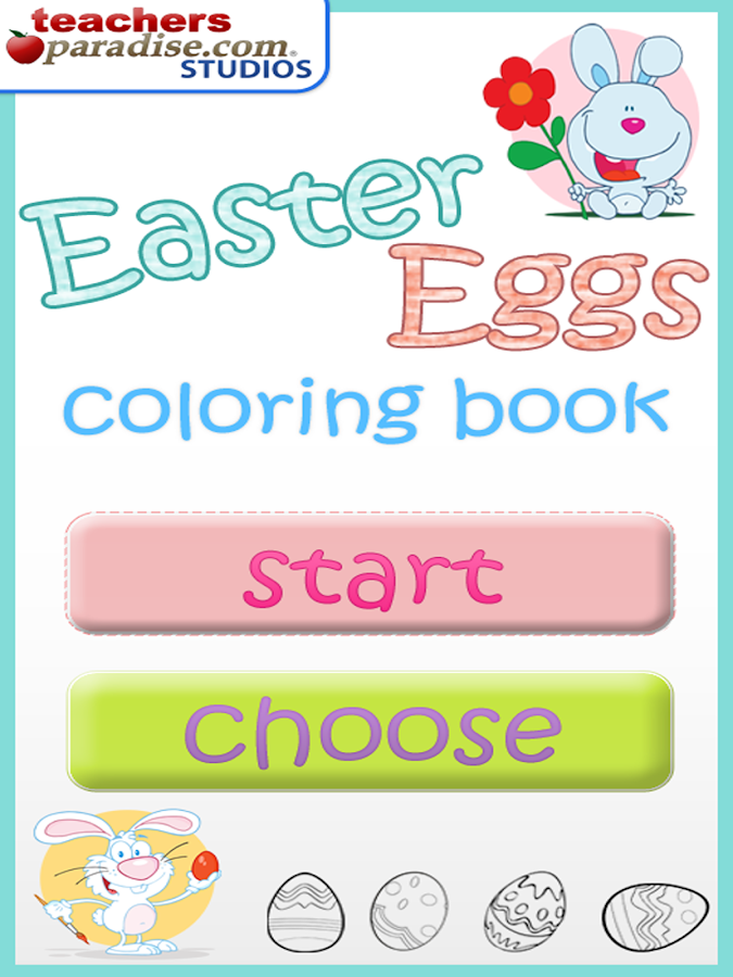 Easter Eggs Coloring Game- screenshot
