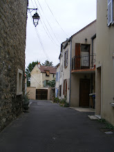 Photo: There are lots of quiet corners in town, with older and newer homes side by side.