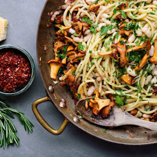 Wild Mushroom and Butter Bean Pasta