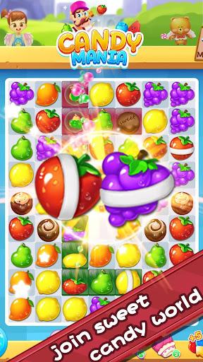 Sweet Candy Fever - New Fruit Crush Game Free 1.3.0 screenshots 1