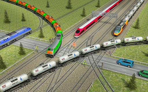 Indian Train City Pro Driving- Oil Tanker Train  screenshots 6