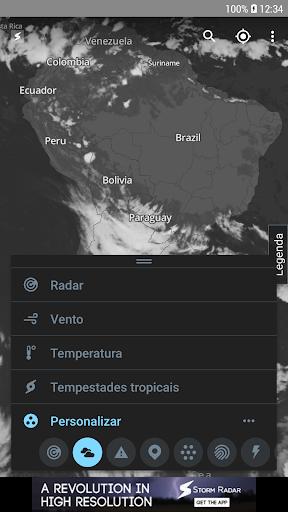 Storm Radar: mapa climático screenshot 3