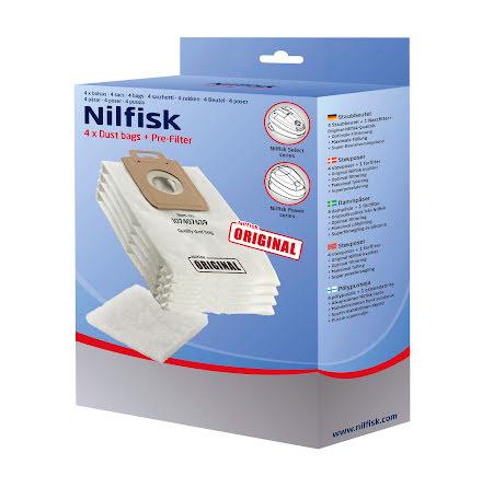 Dammpåsar Nilfisk Select 4pack