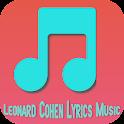 Leonard Cohen Lyrics Music icon