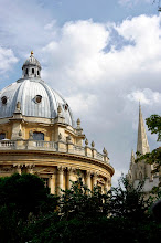 Photo: The Radcliffe Camera and St Mary's University Church, Oxford.