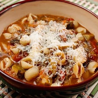 Gluten Free Flat-out Delectable Minestrone