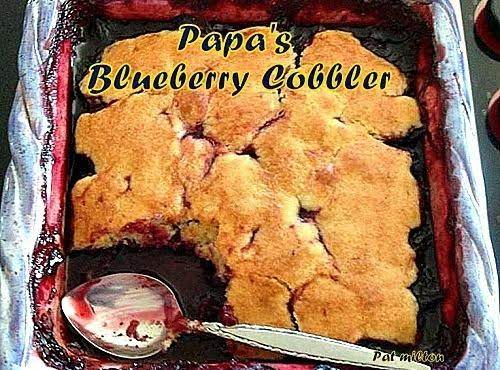 Papa's Blueberry Cobbler