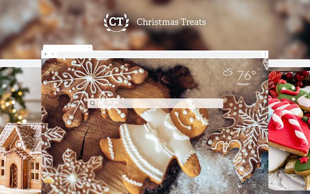 Christmas Treats HD Wallpapers New Tab
