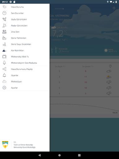 Meteoroloji Hava Durumu 6.1.8 Screenshots 13