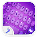 Emoji Keyboard-Candy Purple icon