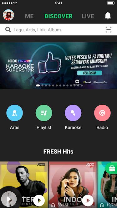 Joox VIP versi 4.7.0 Mod Apk (Unlimited) Selamanya