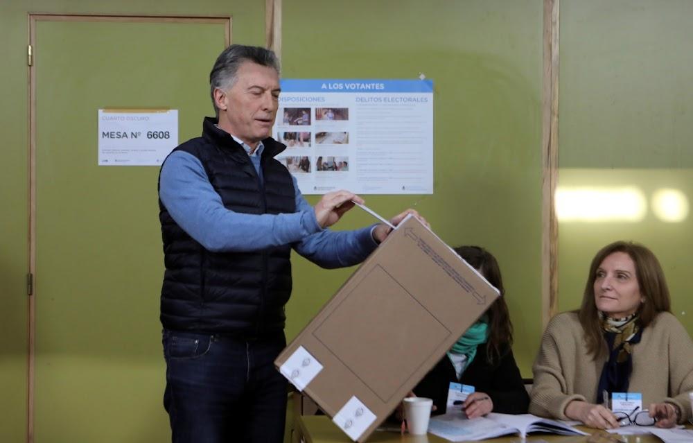 Argentinië gaan na die stembus in die eerste Macri, Fernandez-onthulling